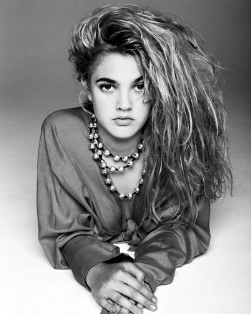 1990's Style Icon Drew Barrymore