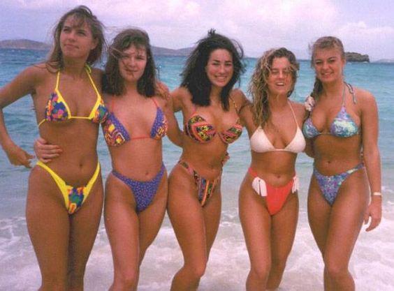 1990s bikinis