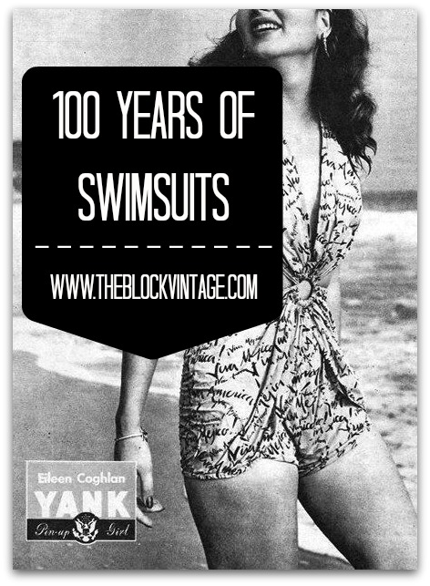 100 Years of Swimsuits on The Block Vintage