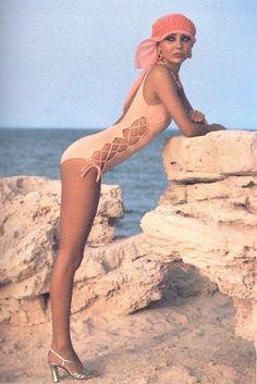 1980s swimsuit