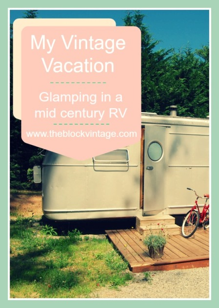 My Vintage Vacation: Glamping in a mid century RV at Asheville Glamping