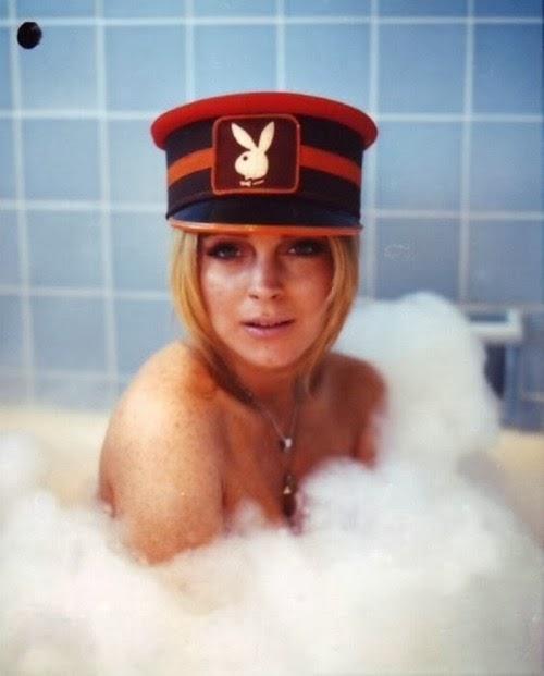 Lindsay Lohan Bubble Bath