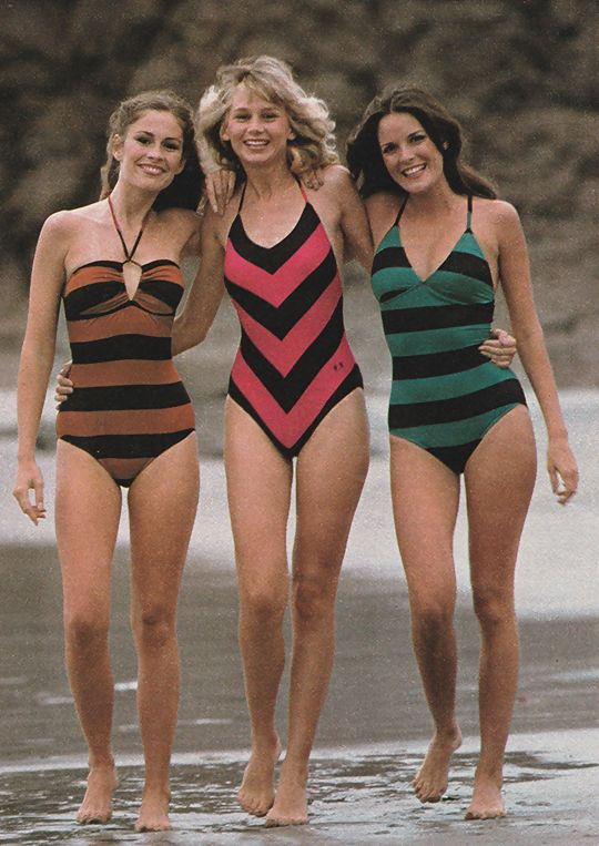 1970s Swimwear Seventeen Magazine