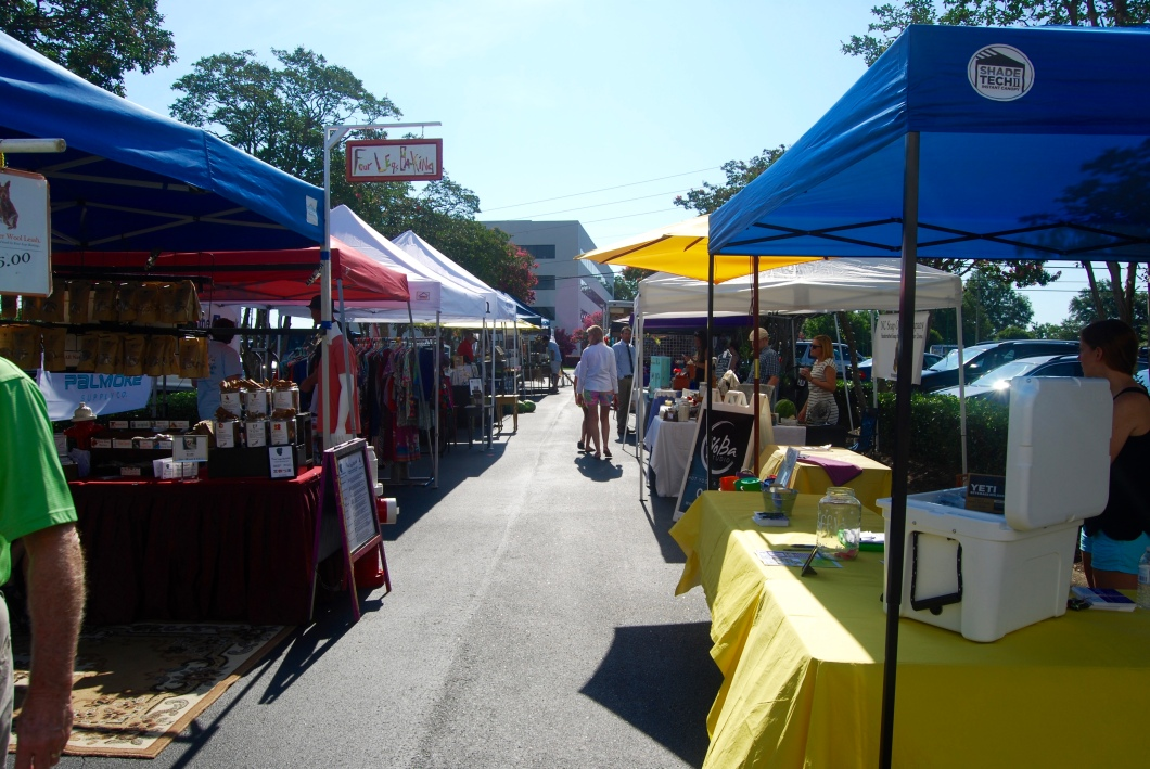 July 2016 Market at Quail Corners in Raleigh, NC