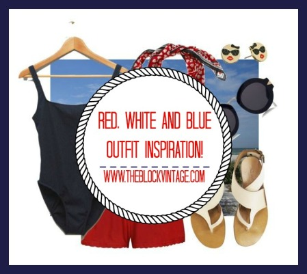vintage and retro fourth of july outfit inspiration