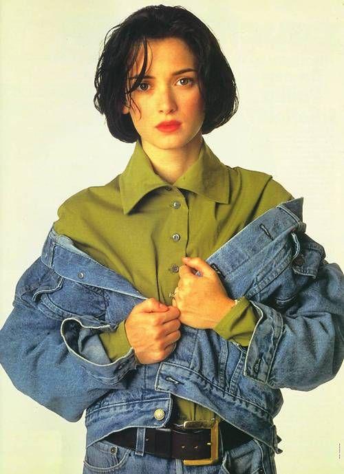 Winona Ryder 1990's Style