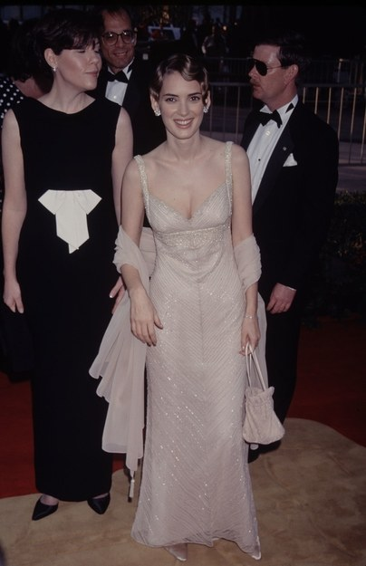 Winona Ryder at oscars 1996