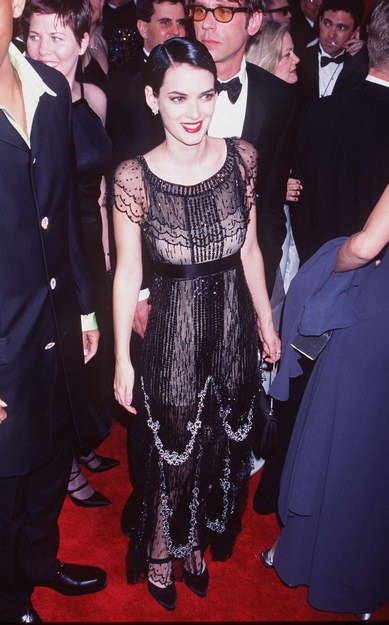 Winona Ryder 1997 Oscars