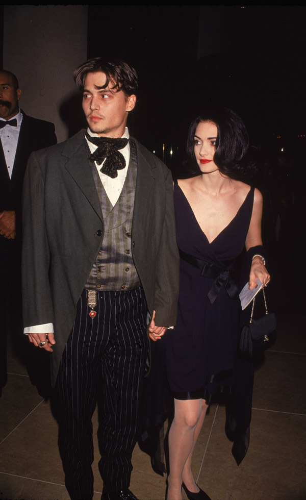Winona Ryder 1990's Red Carpet Fashion