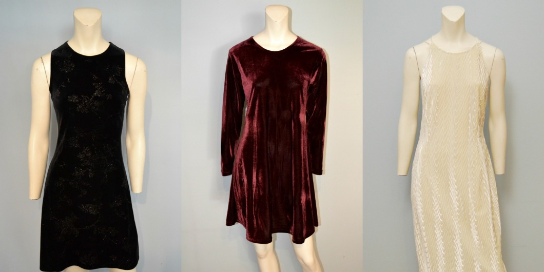 Vintage Velvet Dresses from The Block Vintage