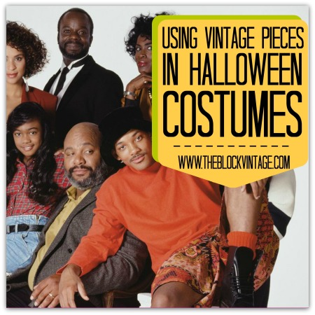 Using Vintage Pieces for your halloween costume