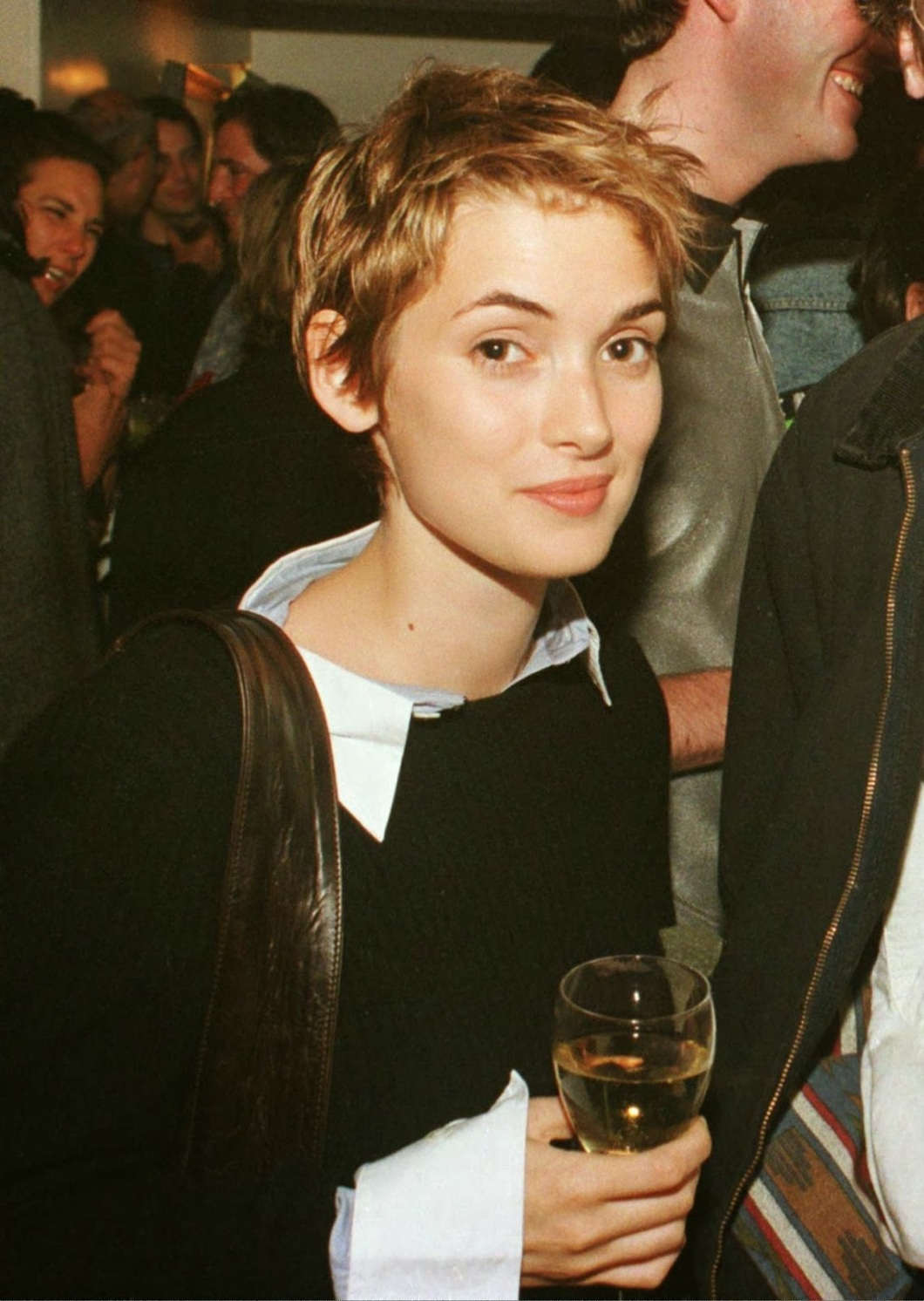 Winona Ryder 1990's Street Style