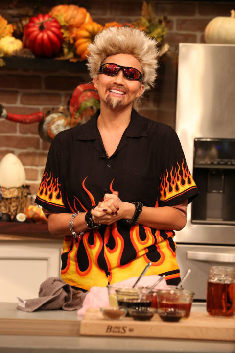 Chrissy Teigen as Guy Fieri