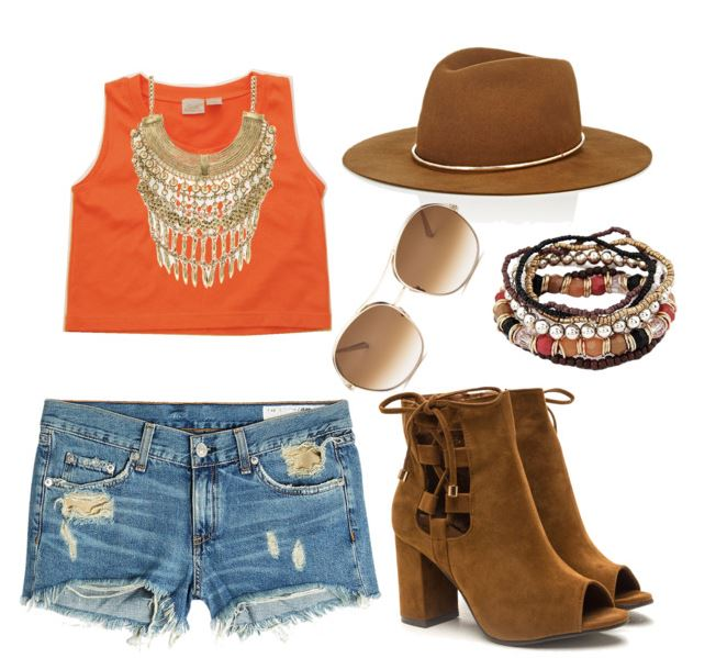 1990's Crop Top Styled 5 Ways: Festival