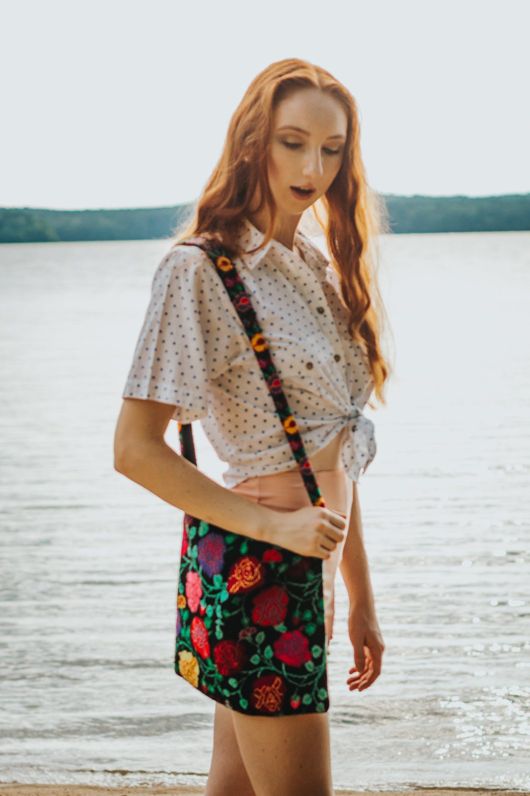 Rachael Pope Wearing The Block Vintage - Photos by Mikayla Christiansen