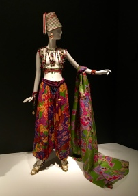 This one is a 1991 look that is an homage to Léon Bakst.