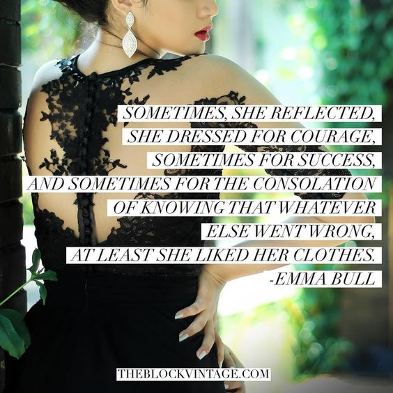 The Best Fashion Quotes Emma Bull