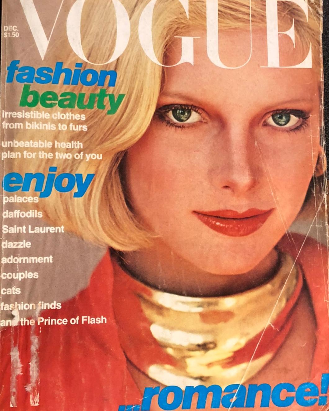 Vogue Magazine December 1976