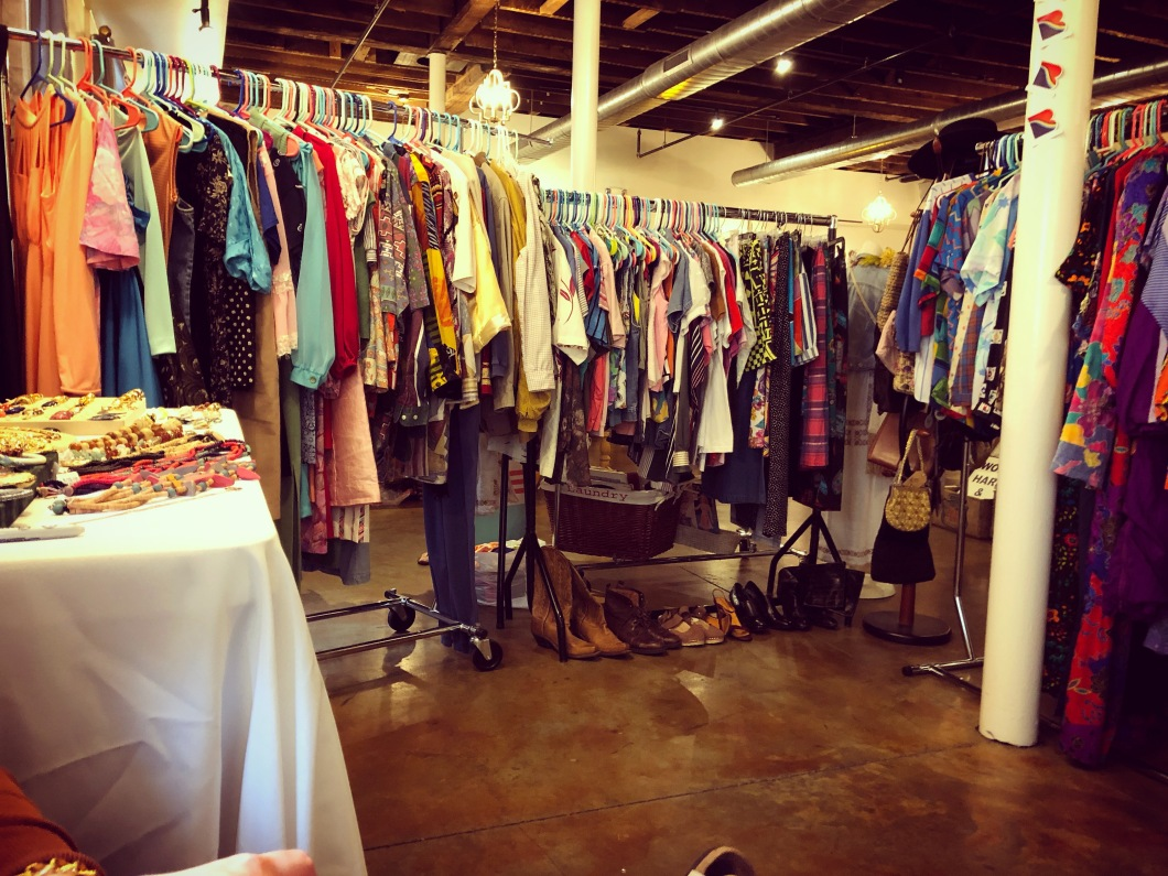 The Block Vintage and Faux and Fine at Urban Vintage Raleigh NC 2018