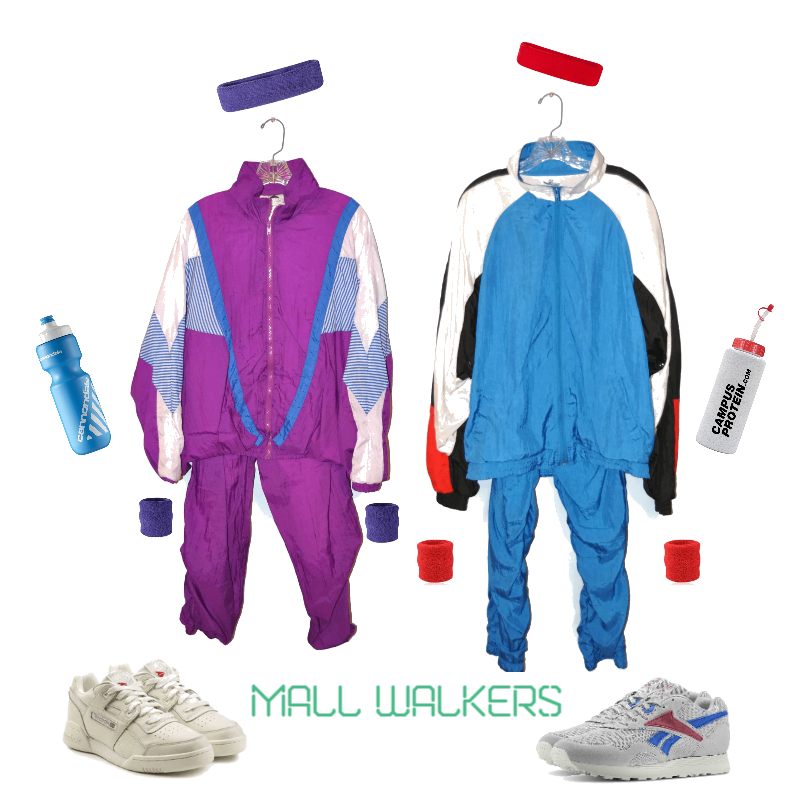 2018 1980's Mall Walker Halloween Costume Inspiration