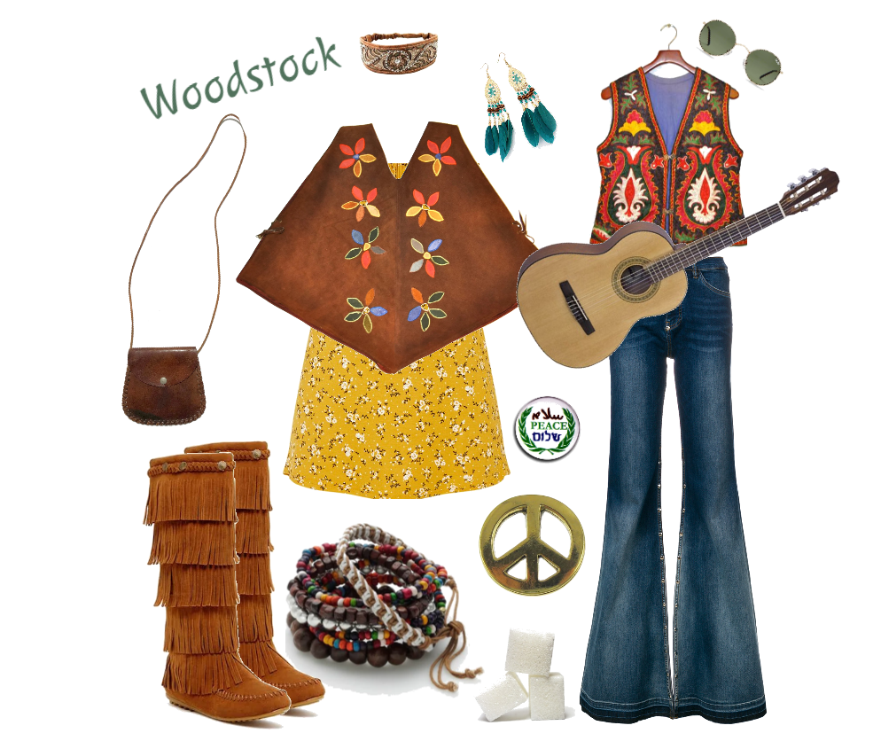 2018 Woodstock Hippie Halloween Costume Inspiration