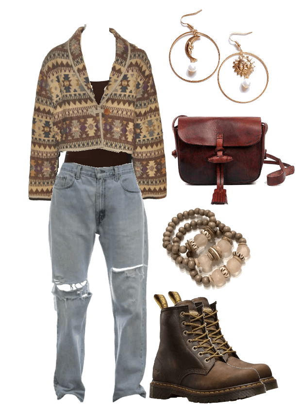 Vintage Winter Style Inspiration - Casual Outfit