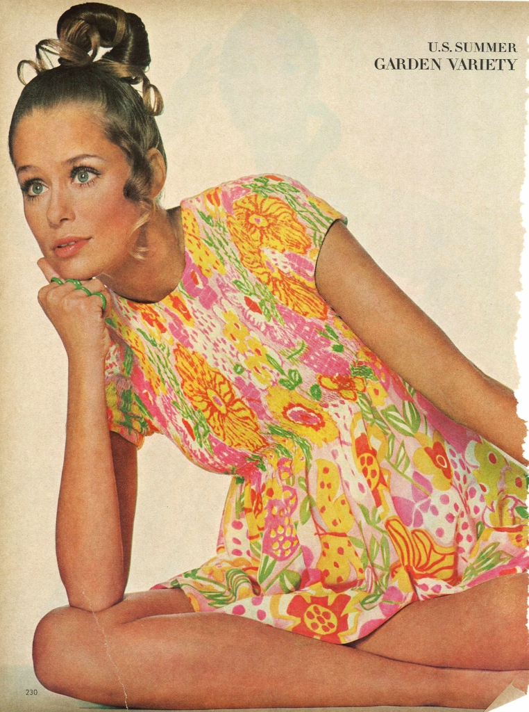 Vogue MayVogue May 1968 Look Lively American Fashion is Out to Play Shot by Penn Irving 1968 Look Lively American Fashion is Out to Play Shot by Penn Irving
