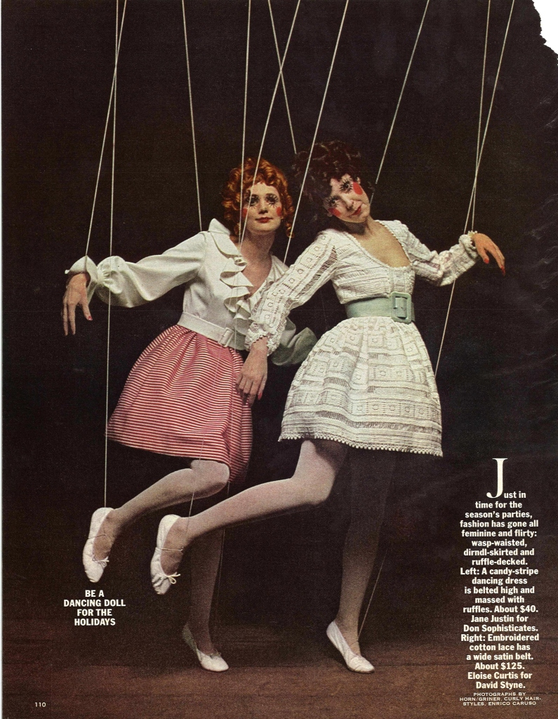 Be a Dancing Doll for the Holidays - McCall's Magazine December 1967