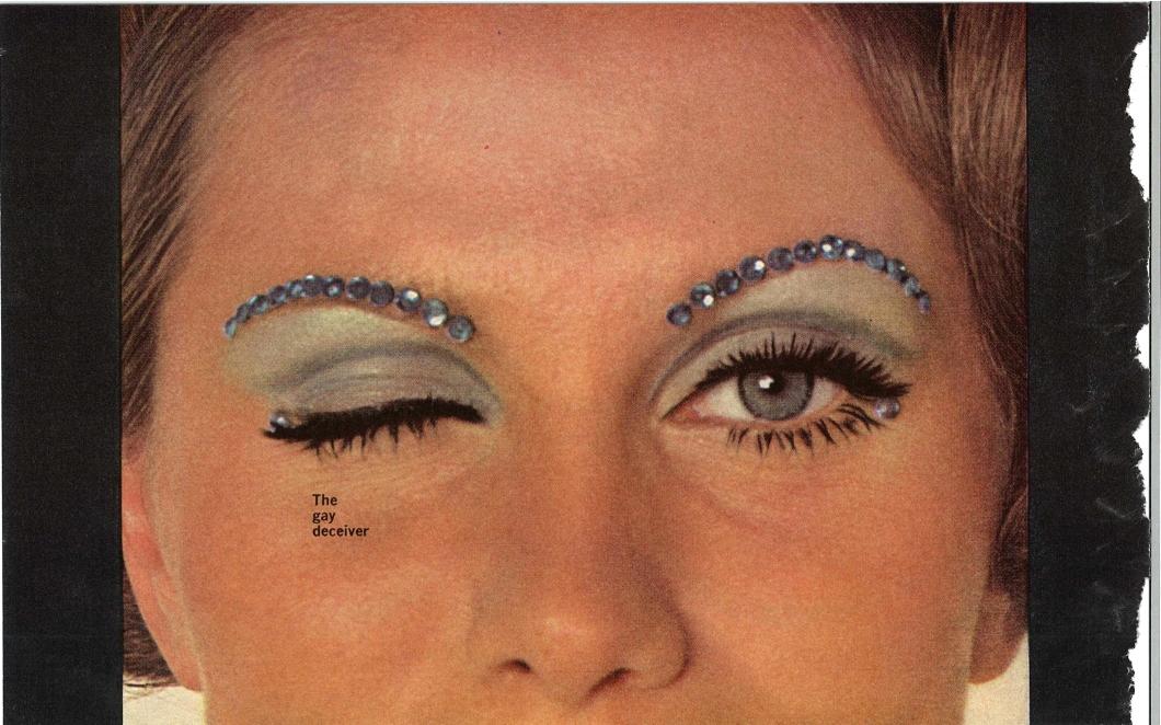 Eye Spy - McCall's December 1967 Makeup Spread